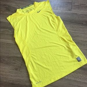 NIKE PRO COMBAT Unisex Dri Fit Fitted Tank Top